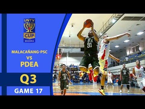 UNTV Cup 6: Malacañang-PSC vs PDEA — Q3