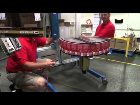 Multi-Color Corporation Omaha Plant Roll Lift Demonstration
