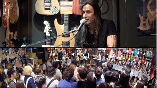 Nuno Bettencourt in store Q&A at Ishibashi Music Shibuya June 9th 2014