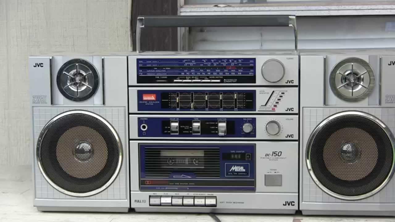 Jvc Pc 150 Portable Componet System 5 Band Eq 3 Piece