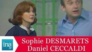 """Sophie Desmarets """"La peau de vache"""" - Archive INA"""