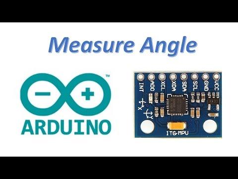 How to measure angle using Arduino and MPU6050 Gyro and