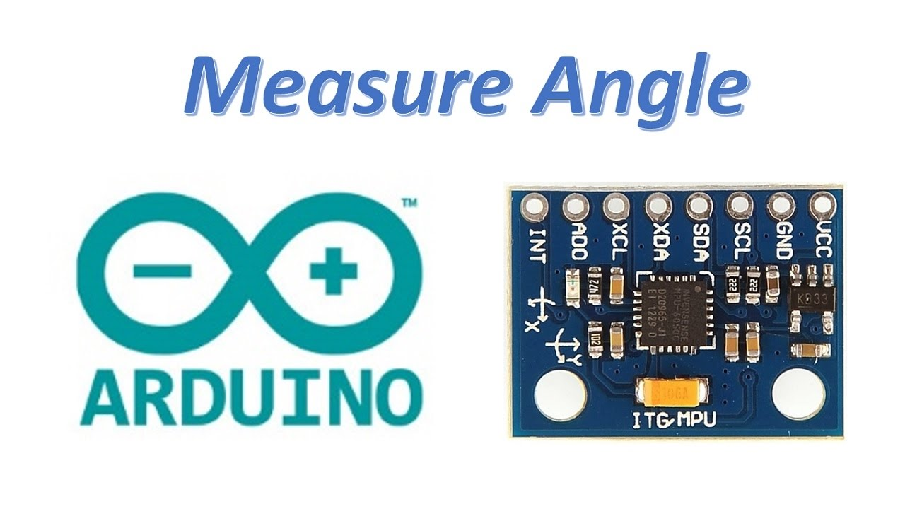 How to measure angle using Arduino and MPU6050 Gyro and accelarometer sensor