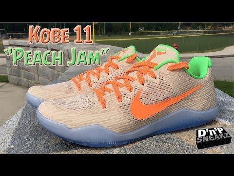 """Special Gift: Kobe EM 11's """"Peach Jam"""""""