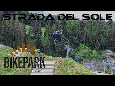 Bikepark Serfaus-Fiss-Ladis 2018 Strada del Sole GoPro HD
