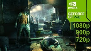 Hitman Absolution GamePlay [PC] in Nvidia Geforce GT 740 / 1080p - 900p - 720p