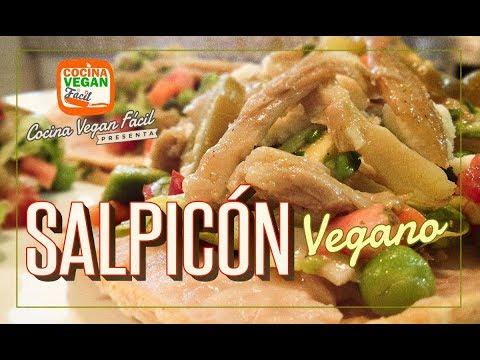 Salpicón de setas con verduras (vegano) - Cocina Vegan Fácil