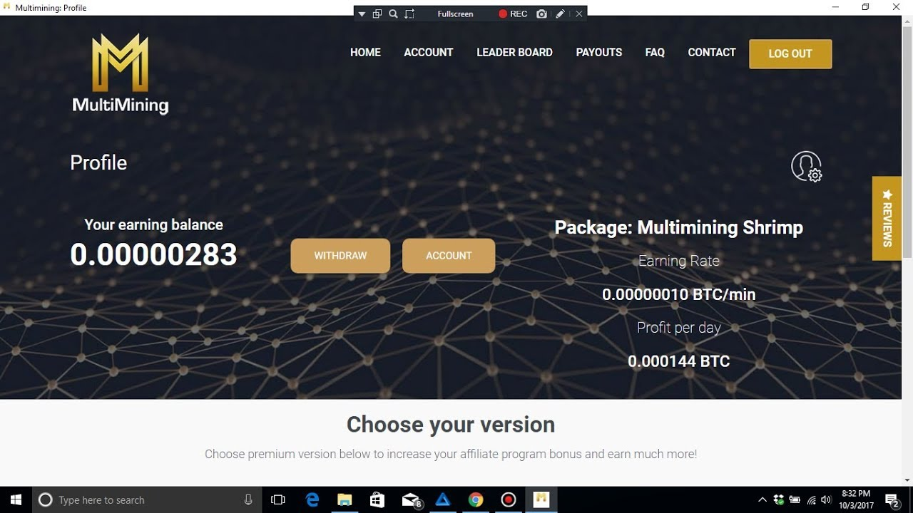 Bitcoin Free Multimining New Site