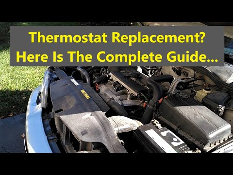 Complete how to guide to replace the thermostat Volvo 850, S70, V70, XC70, C70, V70R P80 car – REMIX