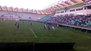 Deportes Temuco en el Estadio German Becker