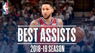 Ben Simmons' Best Assists | 2018-19 Season | #NBAAssistWeek
