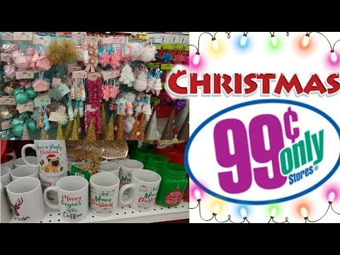 99 CENT ONLY STORE ** COME WITH ME** CHRISTMAS GOODIES
