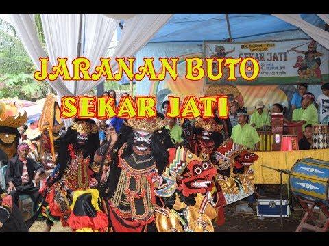 Jaranan Buto Sekar Jati Cluring Dok Ombo di Banyuwangi Purwoharjo-Jaran Kepang & Tari Jathilan