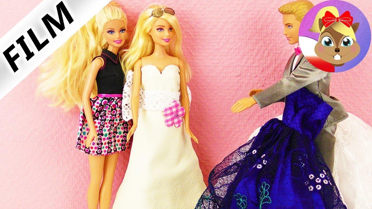 Barbie Historyjka Wybieranie Sukni ślubnej Z Vanessą Youtube