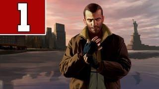 Let´s Play GTA 4 Deutsch - Part 1 - Ein langer Weg bis GTA 5 beginnt