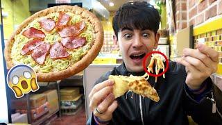 Provo la NUOVA PIZZA COREANA con la CARBONARA SOPRA!