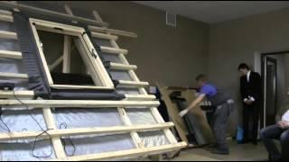 видео Мансардные окна, лестницы