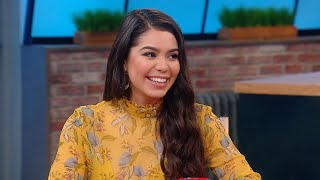 "The Real-Life ""Moana"" Talks About Her First TV Kiss for ""Rise"" (Her Mom Was Watching!)"