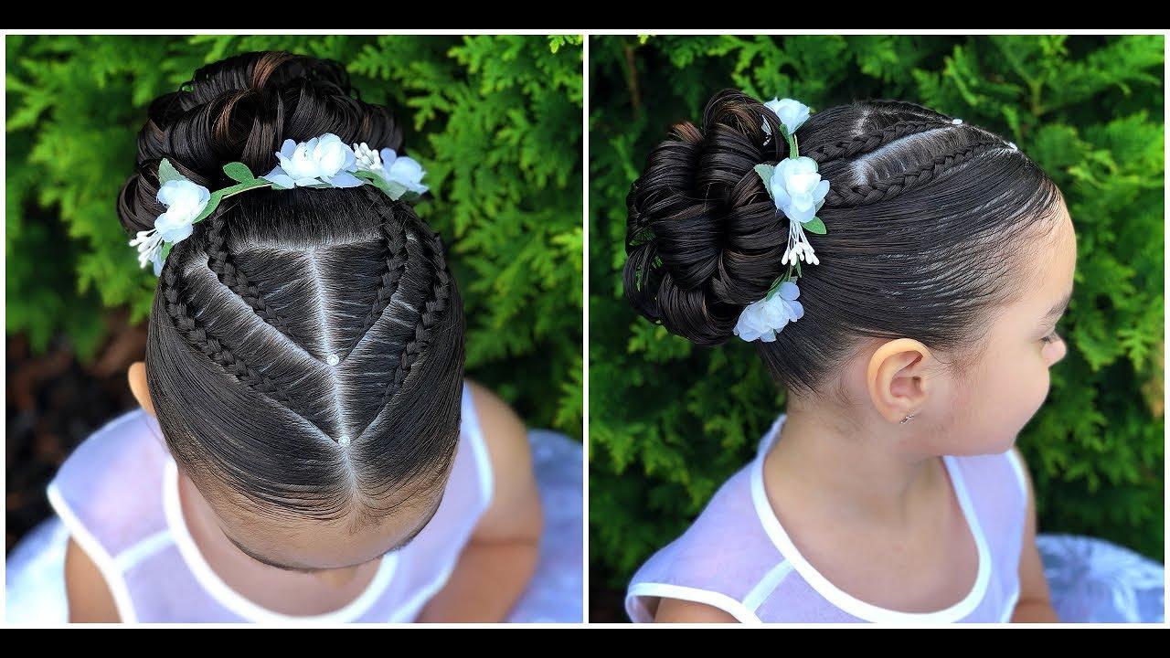 Peinado Elegante Para Niña Fácil Y Rápido De Hacerlph