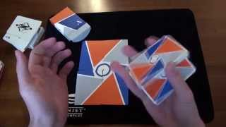 5 decks used for cardistry