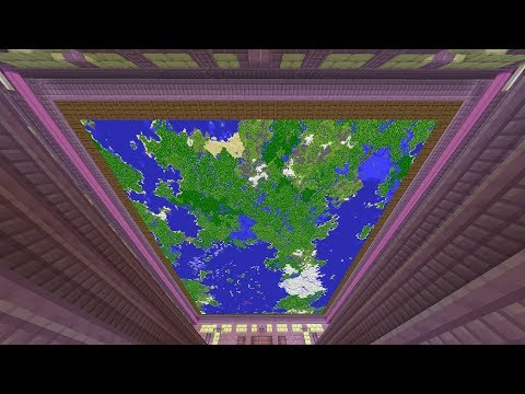 Largest Minecraft Map (12 Million+ Blocks/750+ Maps)