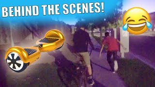 HOVERBOARD BAIT PRANK PART 2!! (Behind The Scenes)