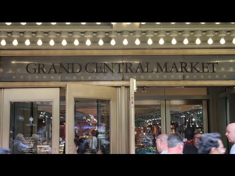 USA New York Grand Central Market Grand Central Terminal