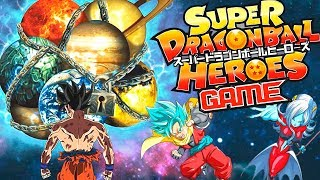 SUPER DRAGON BALL HEROES GAME | Goku Heroes Capitulo 1 | ManoloTEVE