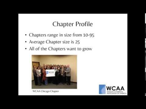 WCAA Membership: What's in it for You