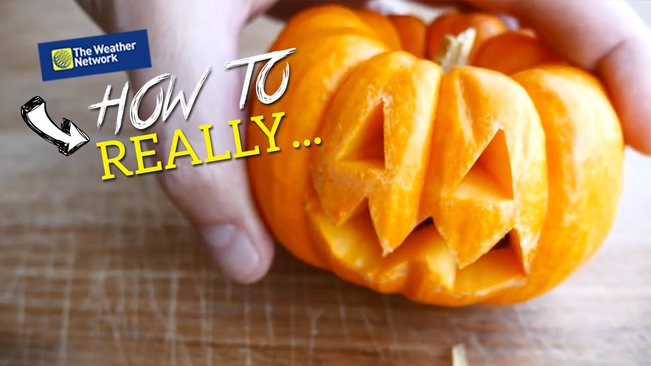 Pumpkin carving secrets stop cutting the top off youtube