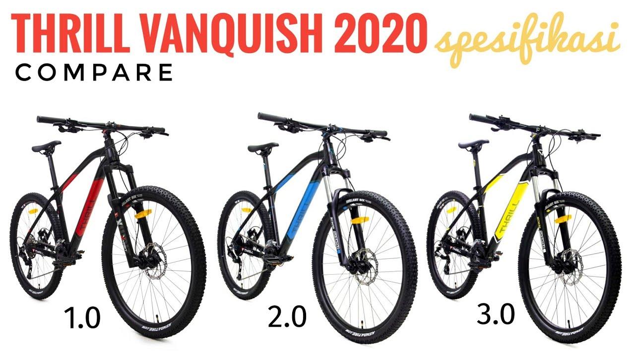 Thrill Vanquish 1 0 2 0 3 0 Compare Spesifikasi Terbaru 2020 Youtube