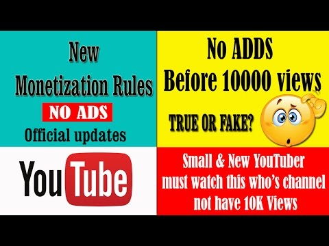 New Youtube Partner Program 2017 | Monetization Rules|YouTube Policy Update | 10000 views details