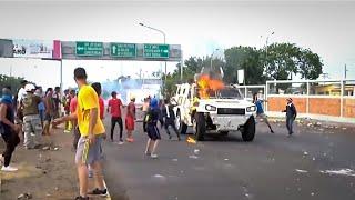Crazy Riot in Venezuela