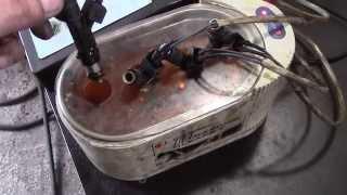 Ваз21213 промывка форсунок (чистка инжектора) нива