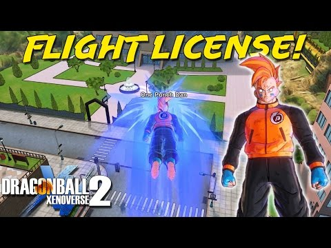 How To Get The Flying License! | Dragon Ball Xenoverse 2