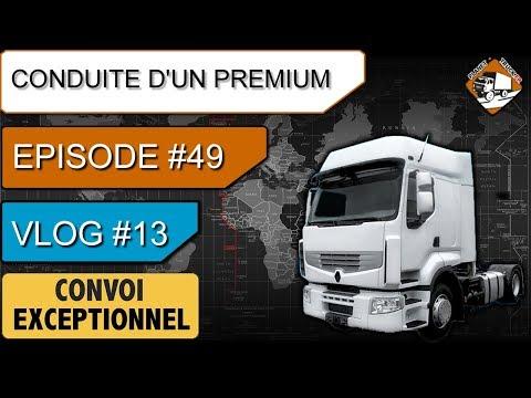 Renault Premium | Convoi exceptionnel - Chargement - La  N7  | #49