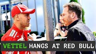 Vettel Spending More Time at Red Bull - Less Practice = Better Races? - Ricciardo Aware Struggle