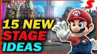 15 NEW Stage Ideas for Super Smash Bros Switch
