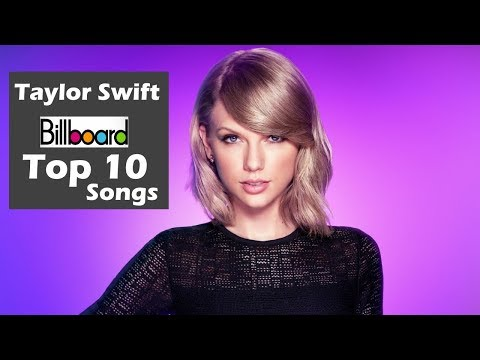 Taylor Swift - Billboard USA Top 10 Songs | Greatest Hits | ChartExpress
