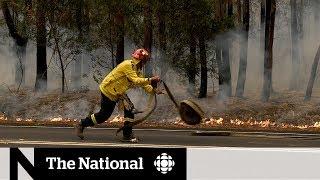 Volunteers, Canadians battling Australia wildfires