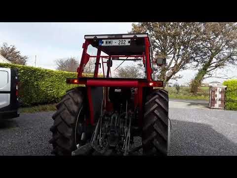 Massey Ferguson 168. Fully restored and refurbished. Michael Murphy Agri and Plant Repairs
