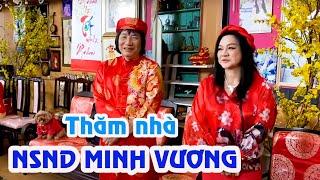 Thăm nhà NSND Minh Vương cùng Lệ Thuỷ, Thanh Tuấn, Thoại Mỹ, Kim Tử Long, Phượng Hằng