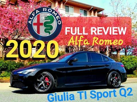 SUBSCRIBE! 2020 Alfa Romeo Giulia Veloce TI Sport FULL REVIEW