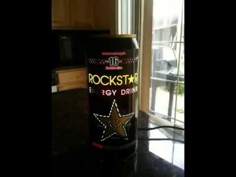 My rockstar energy lamp!!