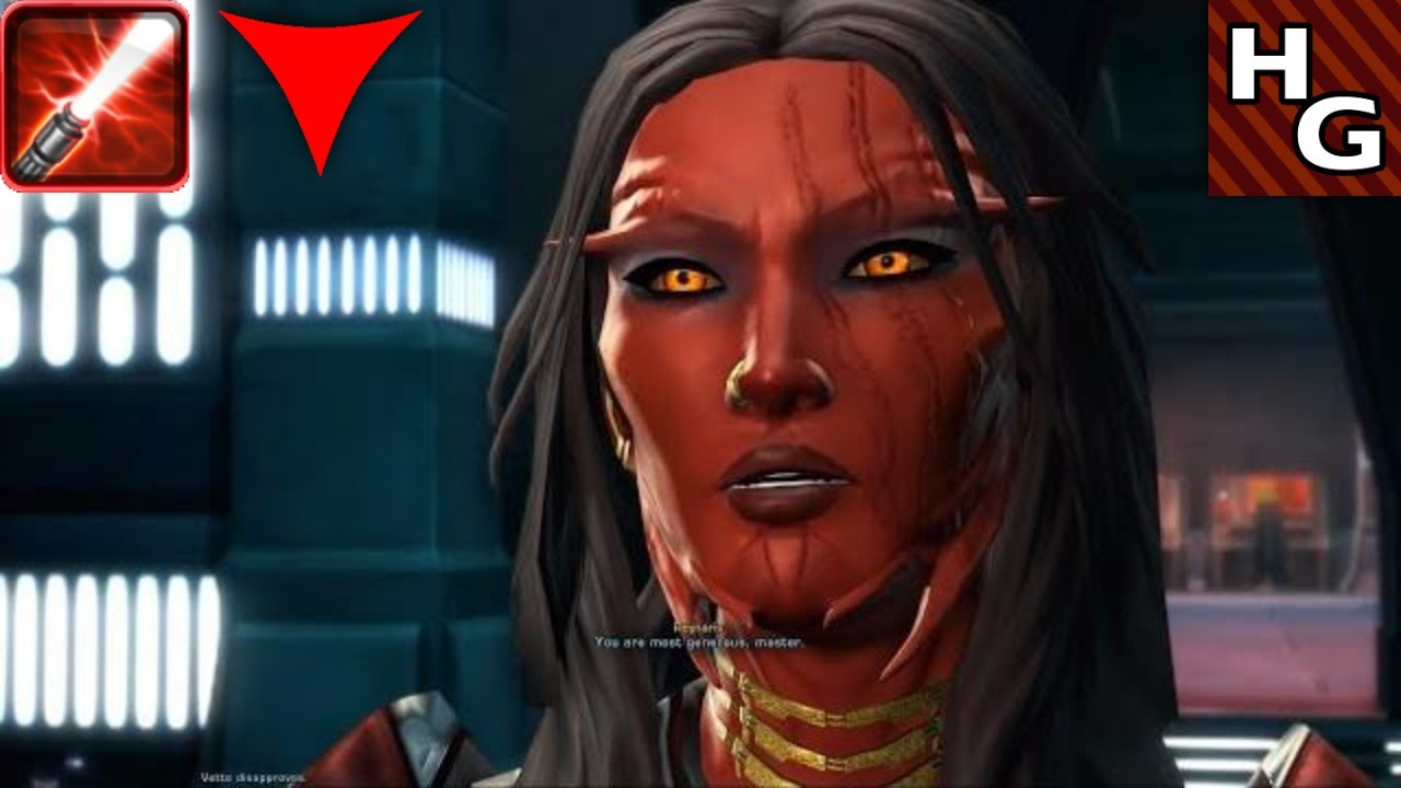 SWTOR: Sith Sorcerer by maqeurious on DeviantArt