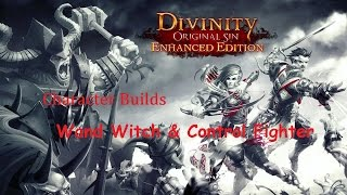 Divinity Original Sin: Enhanced Edition - Character Builds: Wand Witch and Control Fighter