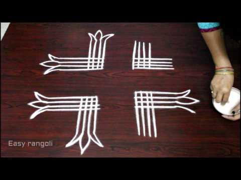 dhanurmasam vakillu muggulu designs || pongal kolam designs || easy rangoli || rangoli art designs