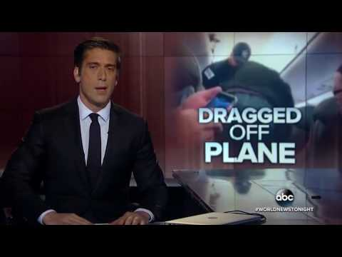 United Airlines Throws China Man Off Of Plane Causing Panic