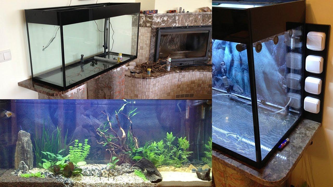 Montaje acuario aqualux 240 l youtube - Montaje de acuarios ...