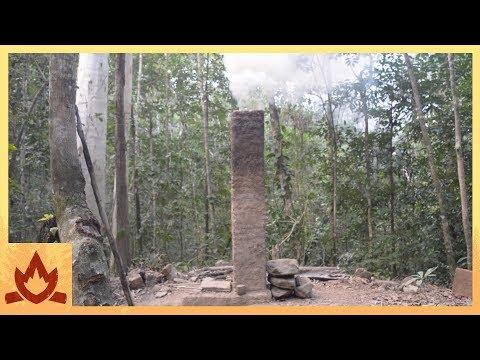 Primitive Technology: Pit and chimney furnace